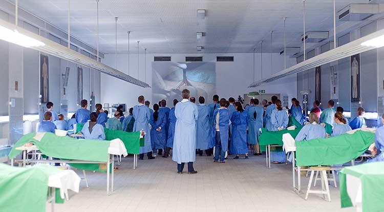 OP-Kurse, Fotos (Auswahl) - Institut für Anatomie und Zellbiologie